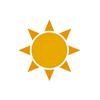 ícone de verão